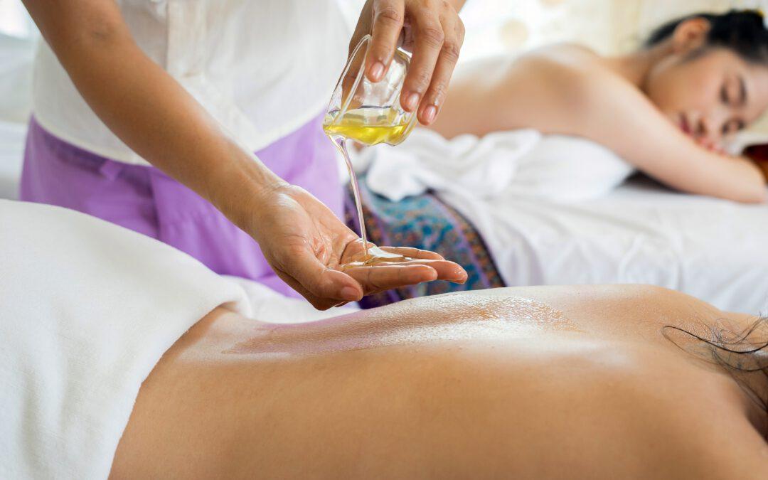 Relaxační masážní olej